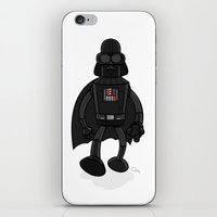 bender iPhone & iPod Skins featuring Darth Bender by Andy Whittingham