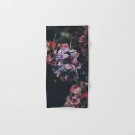 FLOWERS - FLORAL - PINK - RED - PHOTOGRAPHY Hand & Bath Towel
