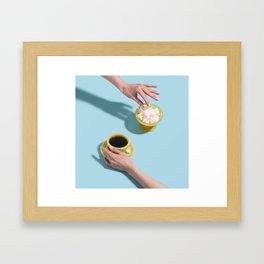 Morning Cuppa Framed Art Print