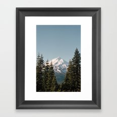 Mt Shasta Morning Framed Art Print