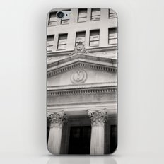 Federal Reserve Bank of Chicago Black and White iPhone & iPod Skin