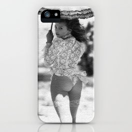 SUN UMBRELLA II iPhone Case