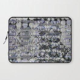 Post Digital Tendencies Emerge (P/D3 Glitch Collage Studies) Laptop Sleeve