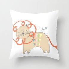 Lion2 Throw Pillow