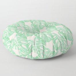 Monstera Pattern Floor Pillow