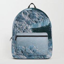 Giant Silent Glacier - Aerial Landscapes Backpack