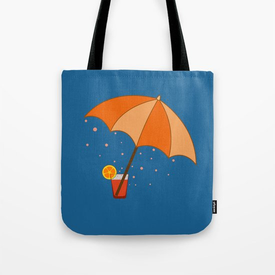 big cocktail umbrella Tote Bag