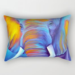 Close Encounter Rectangular Pillow