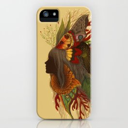 Natural Dark iPhone Case