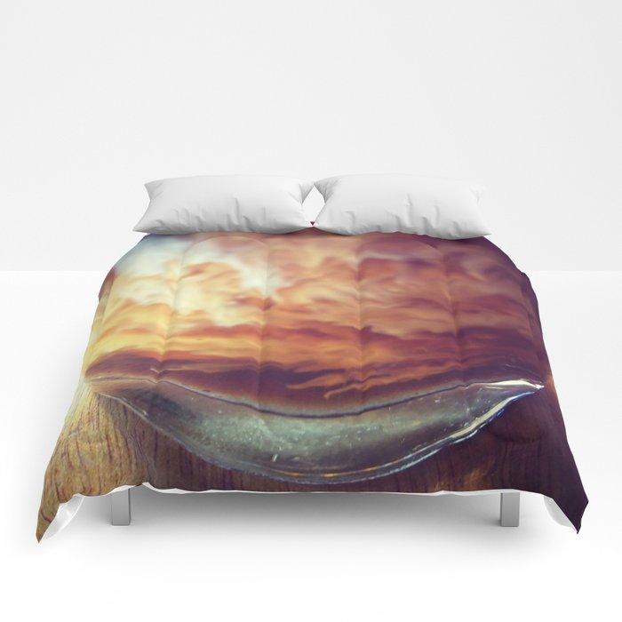 Coffee with Cream Comforters