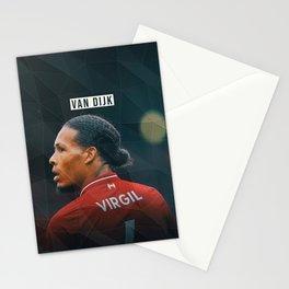 Virgil van Dijk Stationery Cards