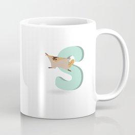 S is for Sugar glider Coffee Mug