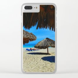 Playa Varadero Clear iPhone Case