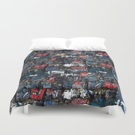 Demolition Duvet Cover