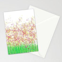 jardin punto Stationery Cards