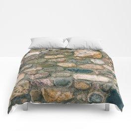 stone wall Comforters
