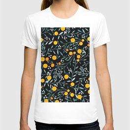 Oranges Black T-shirt