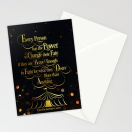 Caraval - Change Your Fate Stationery Cards