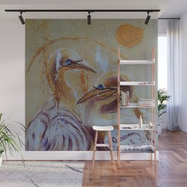 Crazy with Joy | Fou de Joie Wall Mural