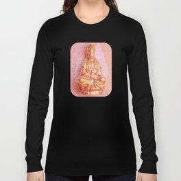 Rose-Bronze Kwan Yin Long Sleeve T-shirt