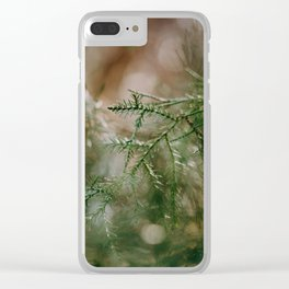 summer morning Clear iPhone Case