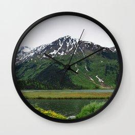 God's_Country - IIIbbd, Alaska Wall Clock
