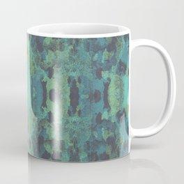 Sycamore Kaleidoscope - Graphite blue green Coffee Mug