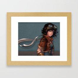 Claret Framed Art Print