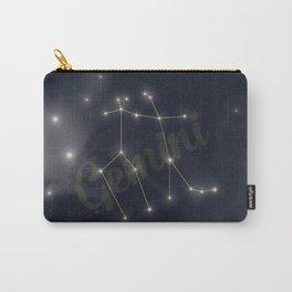 Gemini Constellation - Zodiac Carry-All Pouch