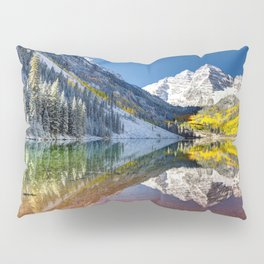 Maroon Bells Colorado Pillow Sham