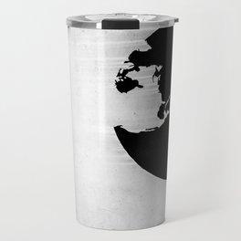 Earth B&W Travel Mug