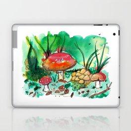 Toadstool Mushroom Fairy Land Laptop & iPad Skin