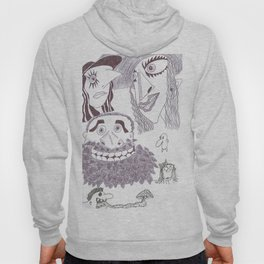 A Grotesque Sextet In Ink Hoody