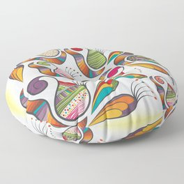 Pattern Floor Pillow