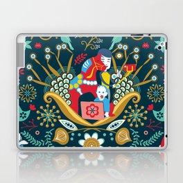 Technological folk art Laptop & iPad Skin
