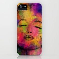 marilyn monroe iPhone (5, 5s) Slim Case