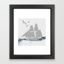 Pirates of the Paper Framed Art Print