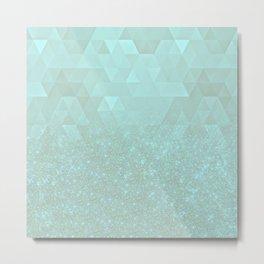 Experimental Glitter VIII Metal Print