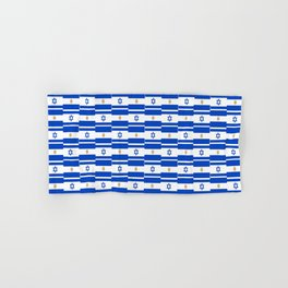 Mix of flag: Israel and Argentina Hand & Bath Towel