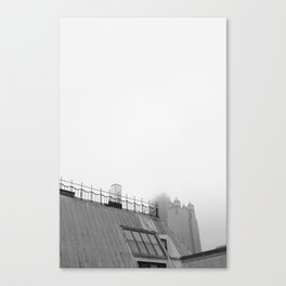 Chicago black&white 2 Canvas Print