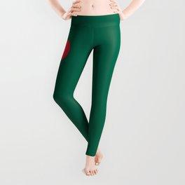Bangladeshi Flag, High Quality image Leggings