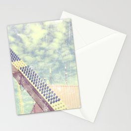 Happy metal pinks Stationery Cards