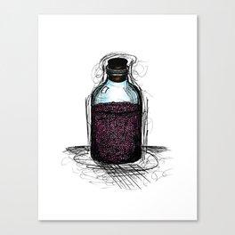 bottle 01 Canvas Print