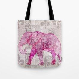 HAA-0218 The Wandering Elephant Tote Bag