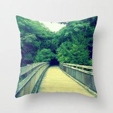 Into the Adventure Throw Pillow