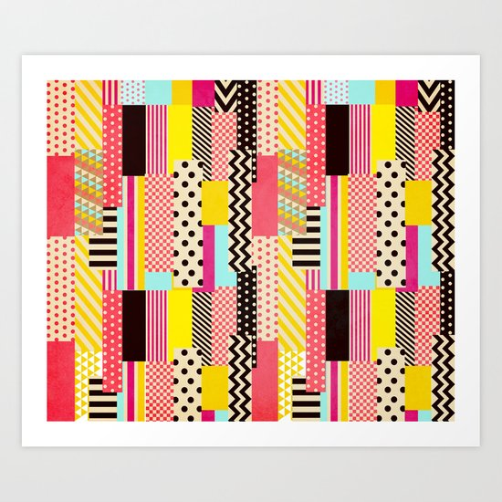 Washi Tape II Art Print
