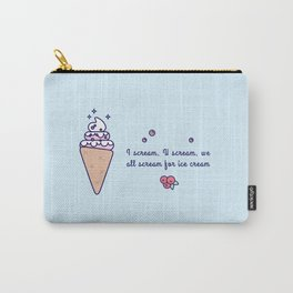 Ice Cream (Cone) Carry-All Pouch