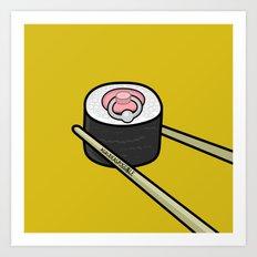 Pierced Nipple Maki Art Print