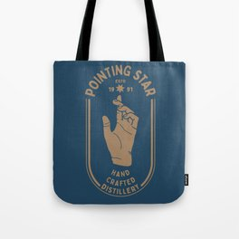 POINTING STAR Tote Bag