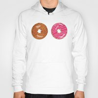 donuts Hoodies featuring Donuts by Malin Erixon